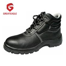 Industrial Leather Work Steel Toe Safety Shoes