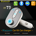 China Supplier T9 Blue tooth device TF card transmitter Blue tooth device Car Blue tooth MP3