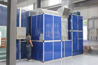 Automotive Water curtain spray booth paint oven