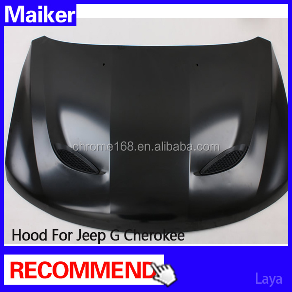 auto parts SRT Engine Hood for Jeep Grand Cherokee hood vents 2014 from maiker
