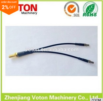 made in voton hot sell SMA - TS9 Adapter SMA Female to Y type 2 TS9 Male Connector Splitter Combiner Cable Pigtail