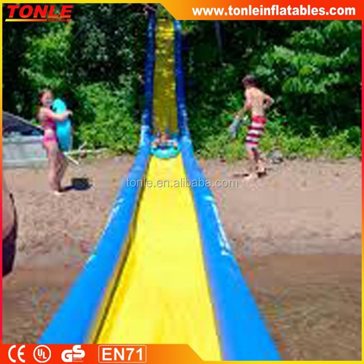 how to make a huge slip and slide