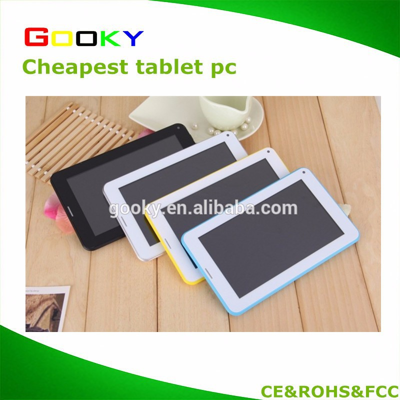 7 inch cheap Mobile phone Tablet pc 2G video call