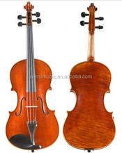 Wholesale Professional grade Brown Viola With Flame Maple handmade Oil Finish