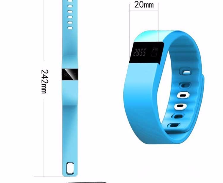 Free Shipping 2016 Factory Wholesale Smartband TW64 Sport Bluetooth Smart Wrist Band