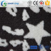 Hot selling train printed fleece fabric for wholesales ever-ivy
