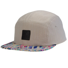 Brand Wholesale Fitted Five Panel Hats Camp Cap