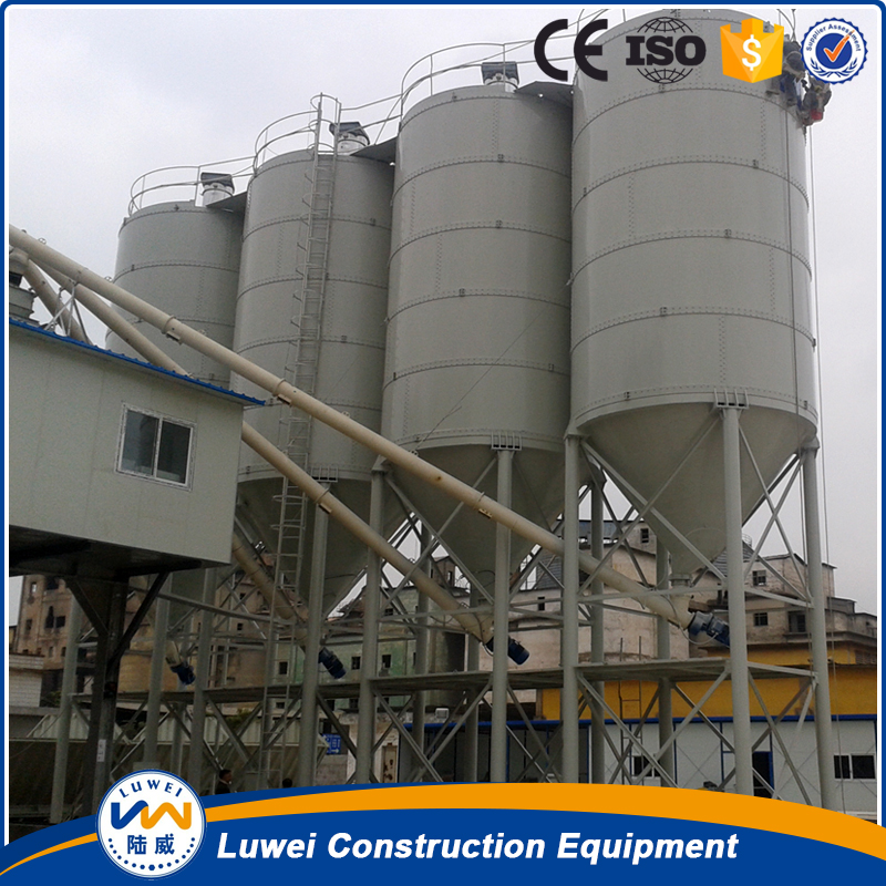 Competitive price steel horizontal cement silo from china