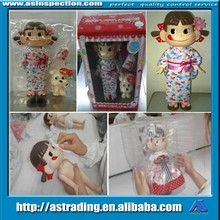 Guangdong/Fujian delivery inspection/visiting inspection service for toys