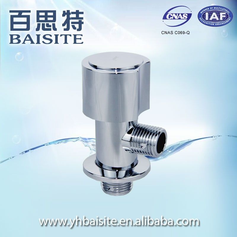 ABS Angle Valve With Chrome Plated Water Tap Bibcock