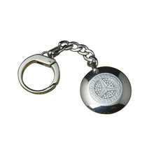 High quality cheap custom made little gift metal keychain