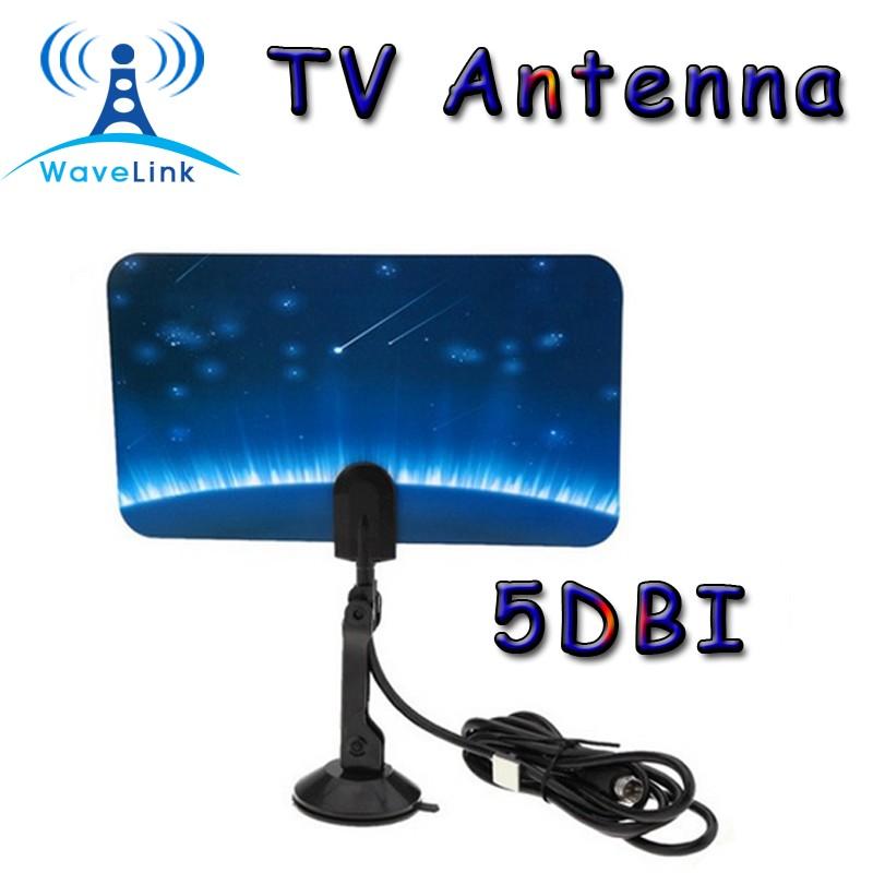 factory price uhf vhf hd tv dtv flat tv antenna digital