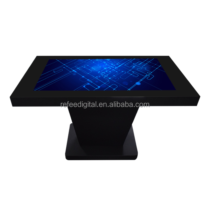 42 full hd lcd panel interactive touch coffee table kiosk for restaurant