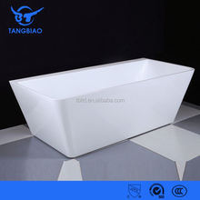 TB-B825 slipper free standing acrylic bathroom tub for soaking
