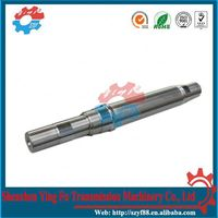 Splined shaft for general gearbox