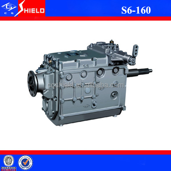 ZF S6-160 Transmission Manual Gearbox for Chinese Bus