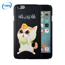Factory price 3D sublimation custom PC case for iphone 6/6s,funny animal phone case for iphone 6/6s