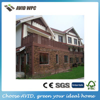 hot sell rodent cheap Proof wooden wpc modern prefab house