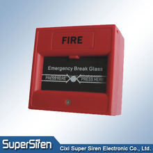Manual call point Emergency Glass Break fire alarm replacement glass