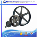 China Supplier v belt pulley with solid hub for agricultural machine