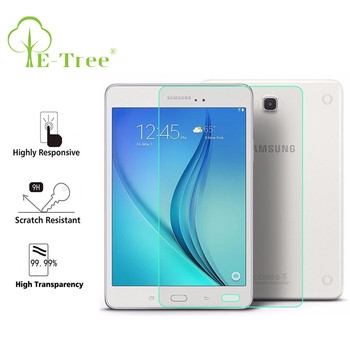 wholesale anti-shock front screen protector for samsung galaxy tab tablet