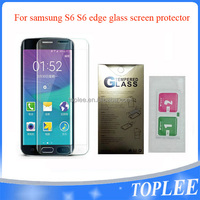 wholesale price!! for samsung S6 S6 edge Tempered Glass Film Screen protector
