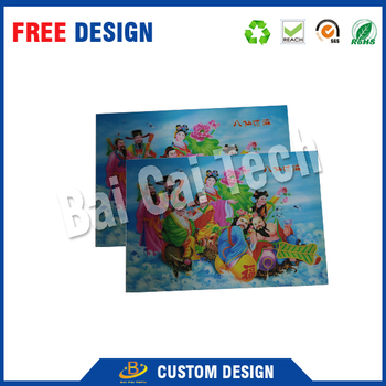 2015 high definition art 3d lenticular picture