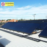 cost of split pressurized solar water heater in india