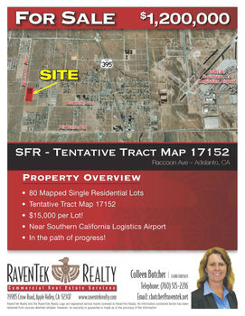 81 Residential Lots - Adelanto