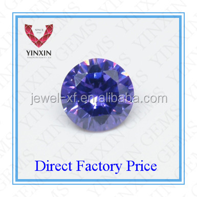 Fashion Shining High Grade Synthetic Cubic Zirconia Lavender CZ Round Shape 3.25mm CZ