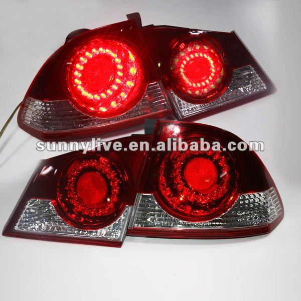 For HONDA Civic LED Tail Light 2006 - 2010 V2 Type