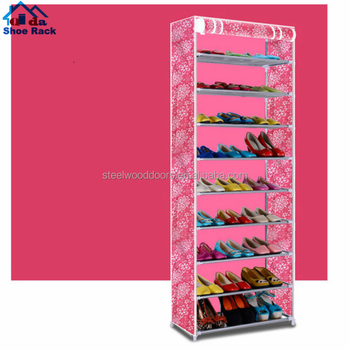 Modern shoe rack cover/ cabinet parts shoe rack/ stainless steel shoes cabinet