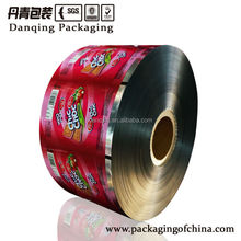 DQ PACK high quality plastic film roll for biscuit packaging