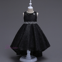New Model Lace Fashion Style Kids Dresses Teens Girl Dress Baby Party Frocks For Wedding Birthday 7 8 10 12 Years