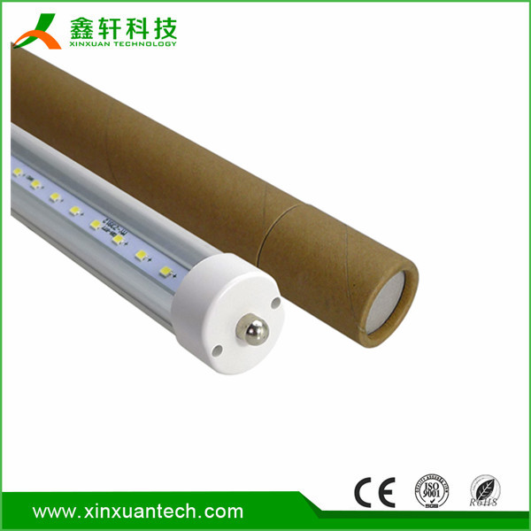 USA standard FA8 36w 40w 2400mm 8 foot t8 led tube with single pin