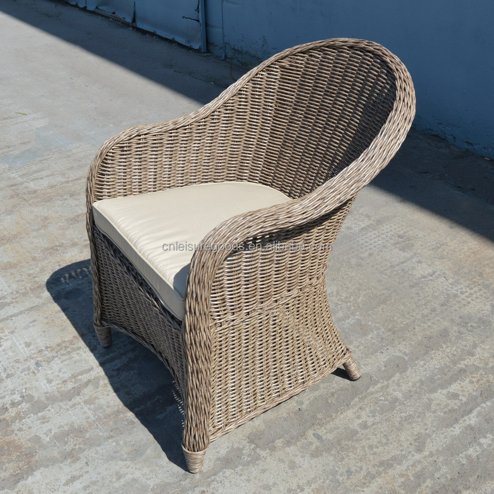 Uplion DSC1501 Hot Selling Stackable Outdoor Rattan Chair