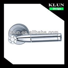 Zinc rosette door lock handle for interior door NO.1-866