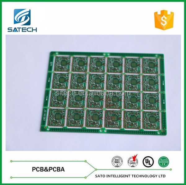 4 Layer Black Matt Finish Solder Mask PCB
