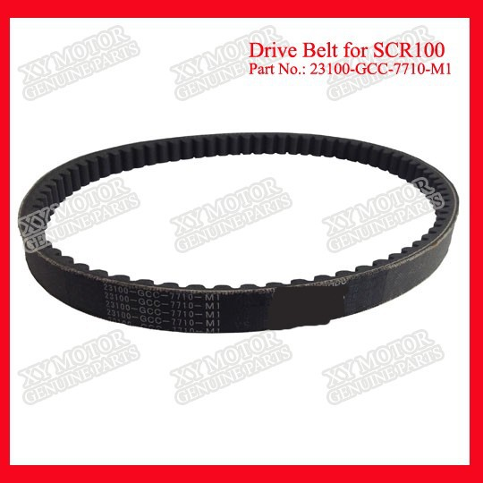 Part No.23100-GCC-7710-M1 V Belt For Compressor Transmission Belt For Honda ACTIVA, SCV100