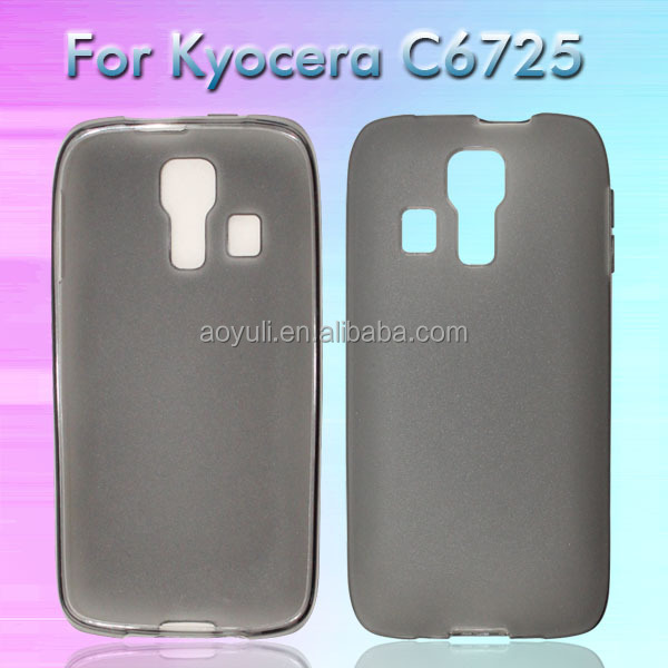 alibaba express TPU phone case for Kyocera Hydro Vibe/C6725