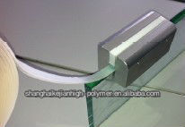 easy acrylic adhesion for glass and plywood partition