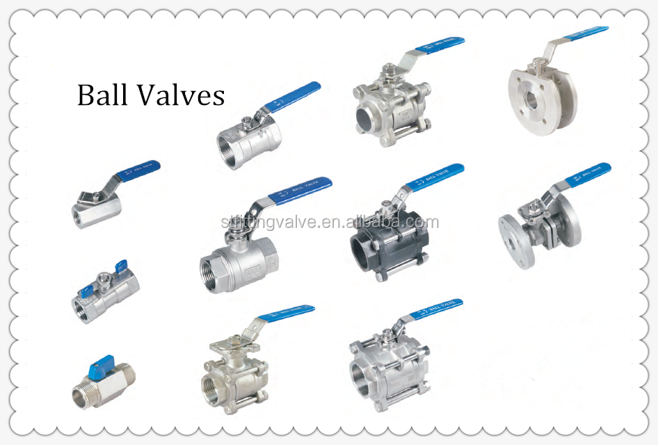 Stainless Steel Mini Ball Valve SUS304, Polished all surface