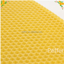 Chinese manufacturer of beekeeping foundation beehive wax foundation sheet cheap beeswax foundation
