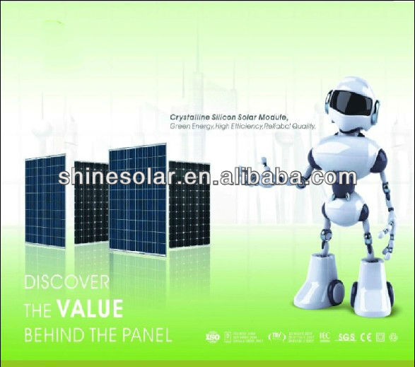 High efficiency home use 50w poly solar panels/ solar modules 50W