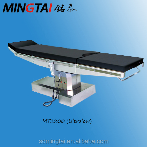 Medical ENT OT Table Manufacturer / Electric Hydraulic Ultro-low Surgical Cosmetic Operation