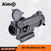 Aim-O M4 hunting rifle scopes green red dot sight tactical gun scope riflescopes AO3032