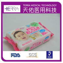 2015 sell well disposable daily care wet wipes disposable baby wet wipe flushable organic baby wet wipes
