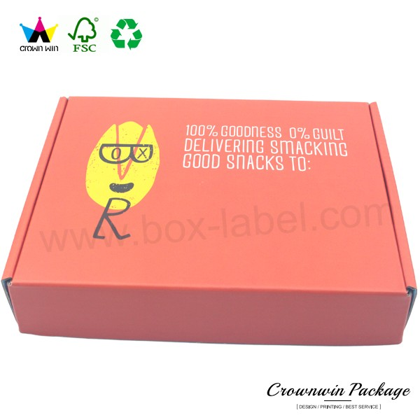 Custom Packaging Design Printed Wholesale Mailing Custom Cardboard Boxes