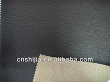 hign quality PVC leather for car seat cover , sofa and chair,flocked backing
