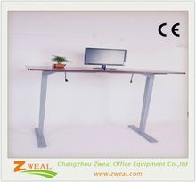 ergonomic electric height adjustable two legs office table childs desk modern study desks